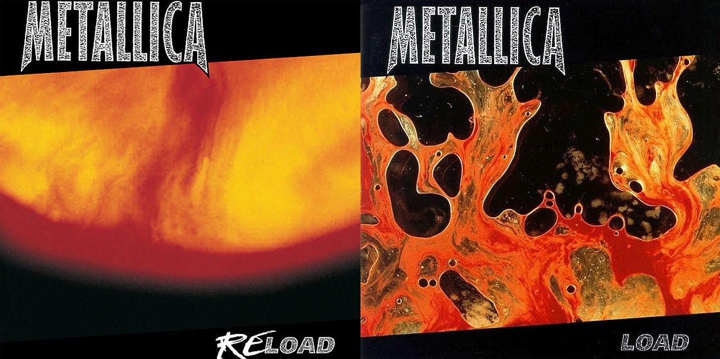 Coperta Metallica ReLoad si Load