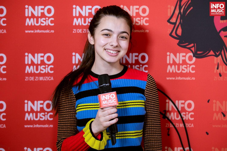 Laura Bretan, interviu InfoMusic 2019