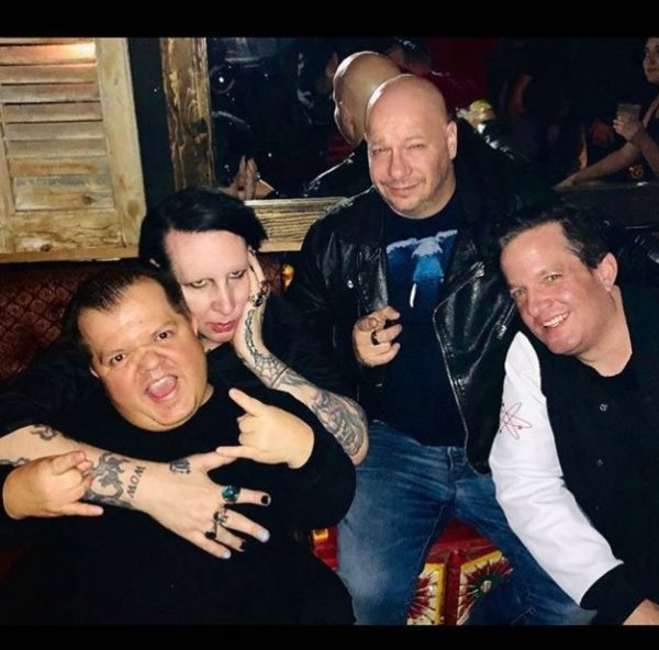 Marilyn Manson zi nastere Jeff Ross 2019