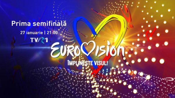 Vizual Eurovison 2019 prima semifinala