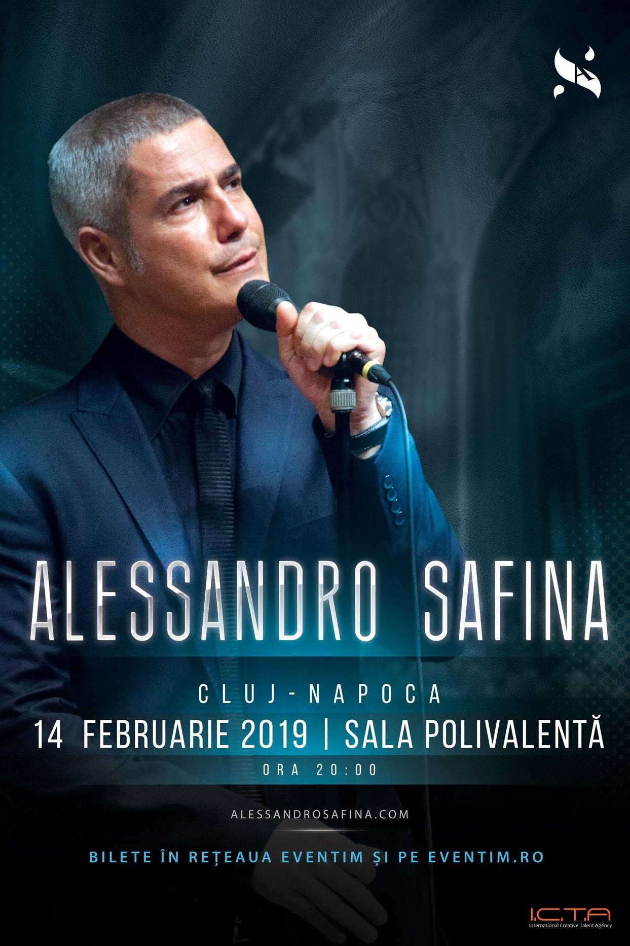 Alessandro Safina la BT Arena (Sala Polivalentă) Cluj-Napoca