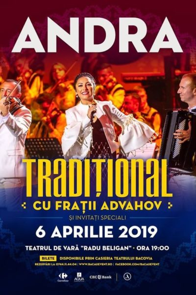 "Poster eveniment Andra - \""Tradițional\"""