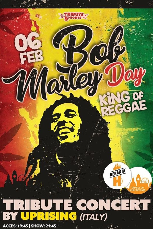 Bob Marley Day la Berăria H