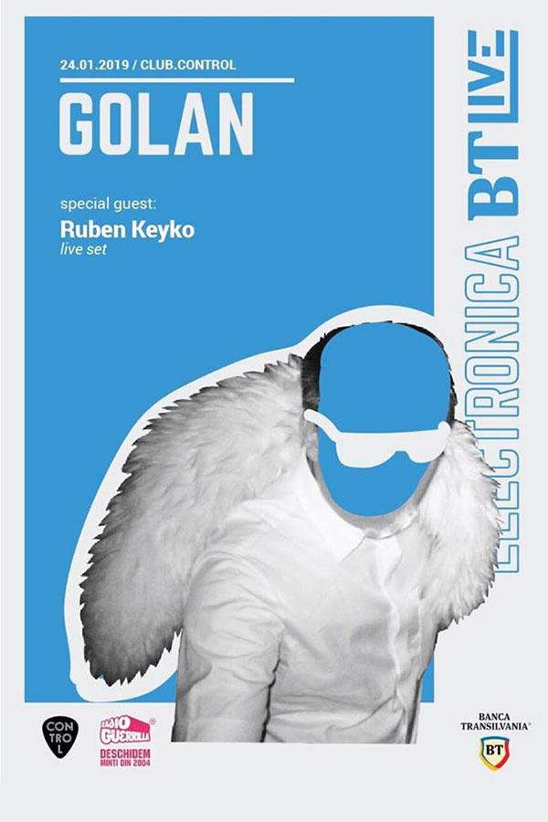 BT Live: GOLAN / Ruben Keybo la Club Control