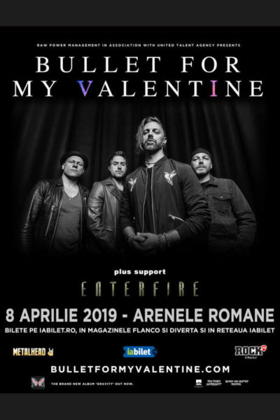 Poster eveniment Bullet For My Valentine