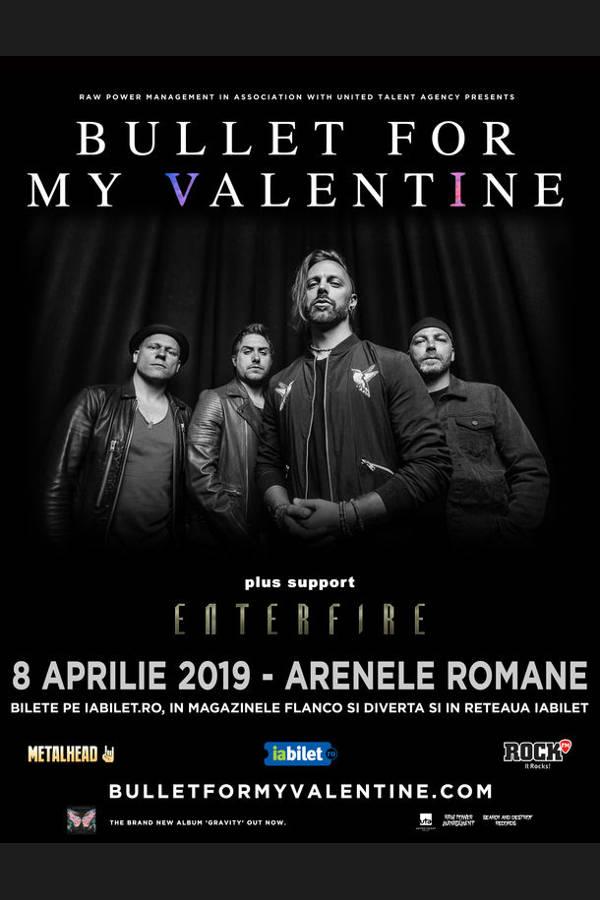 Bullet For My Valentine la Arenele Romane