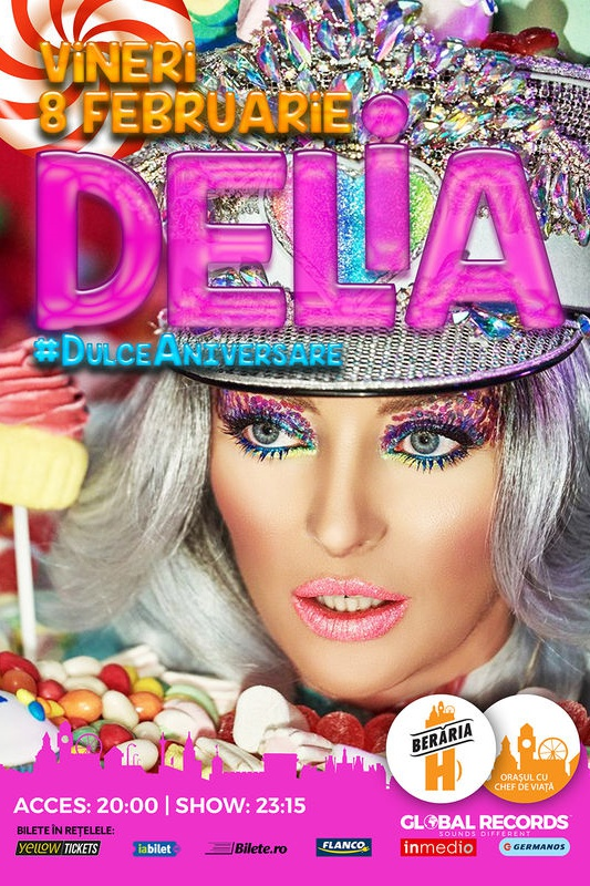 Delia - #DulceAniversare la Berăria H