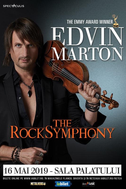Edvin Marton: The RockSymphony la Sala Palatului