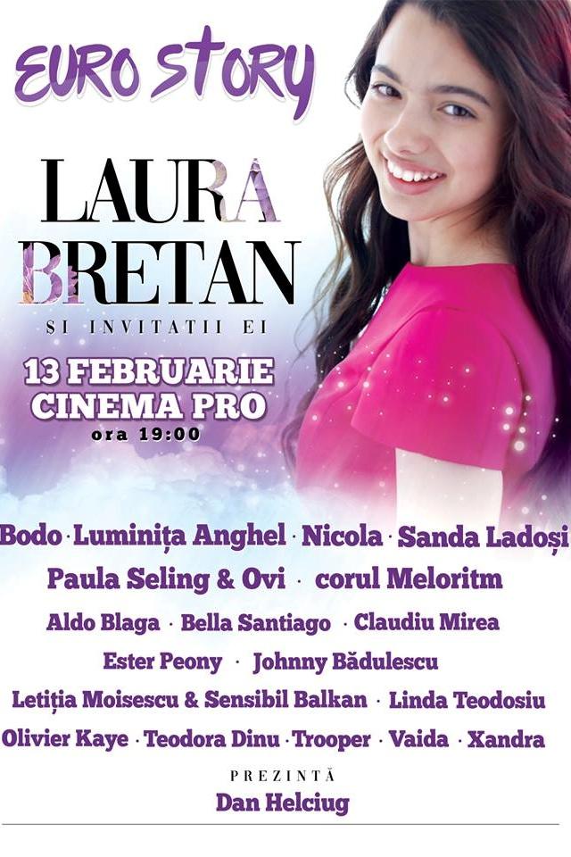 Euro Story: Laura Bretan și invitații săi la CinemaPro