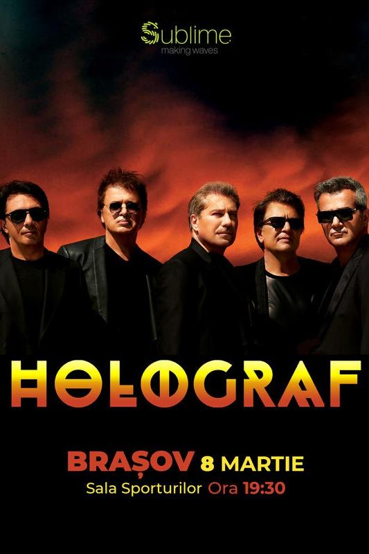 Holograf la Sala Sporturilor Brașov