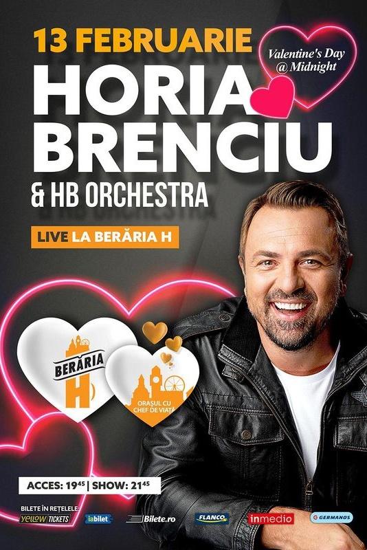 Horia Brenciu & HB Orchestra la Berăria H