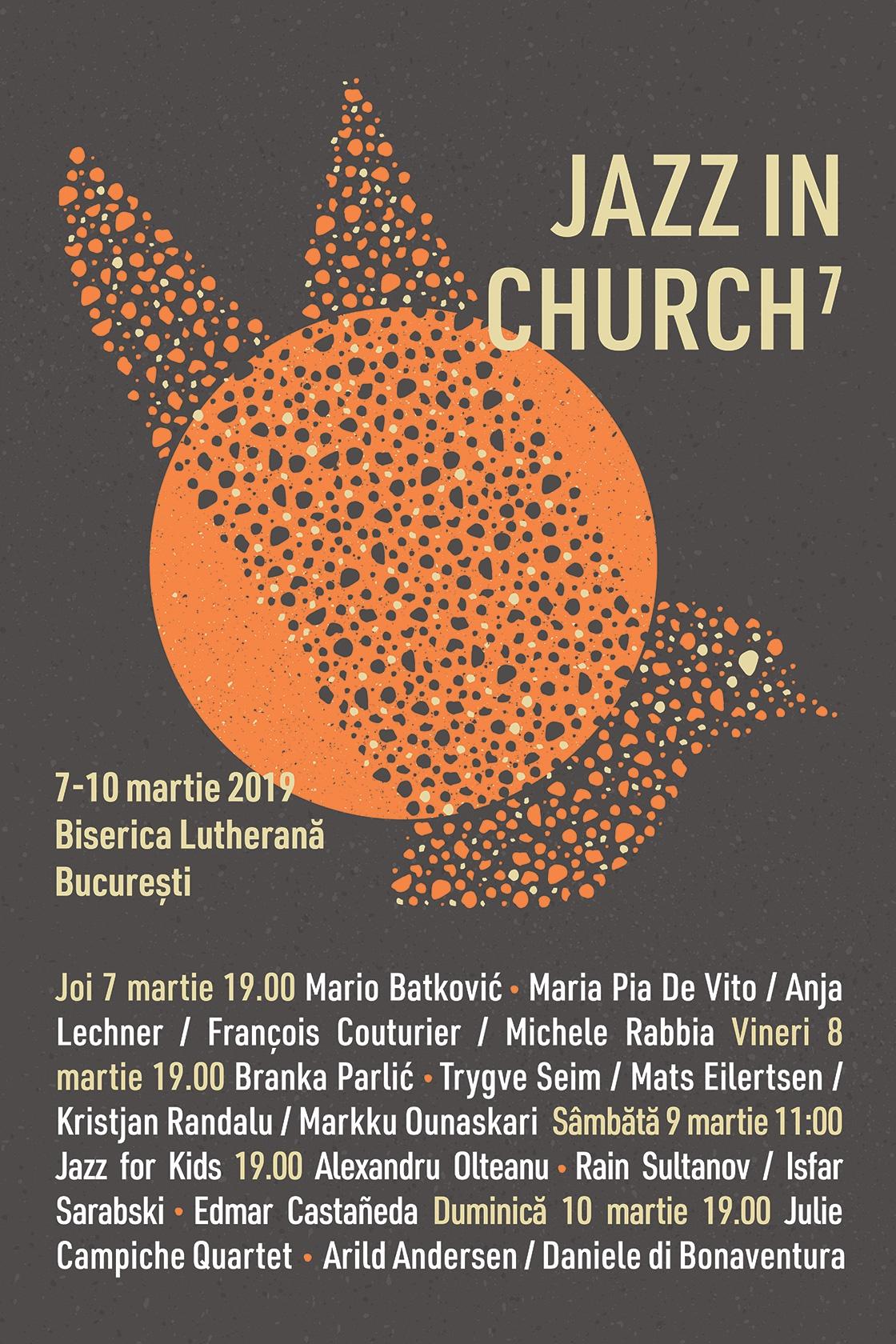 Jazz in Church 2019 la Biserica Luterană