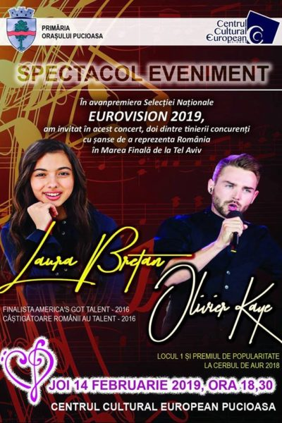 Poster eveniment Laura Bretan & Olivier Kaye