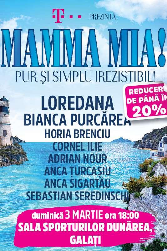 Mamma Mia! la Sala Sporturilor Galați
