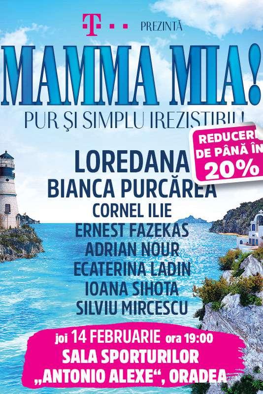 Mamma Mia! la Sala Sporturilor / Arena