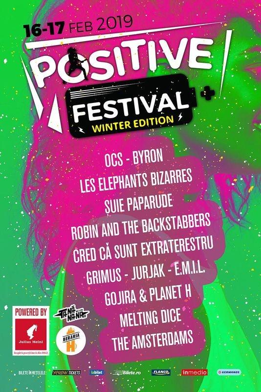 Positive Festival - Winter Edition 2019 la Berăria H