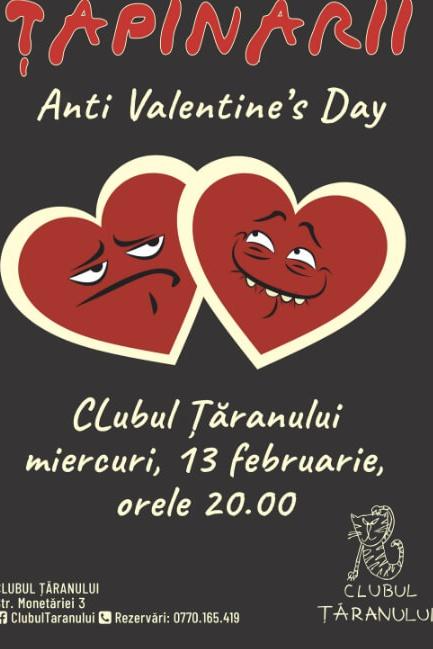 Țapinarii - Anti Valentine's Day la Clubul Țăranului Român