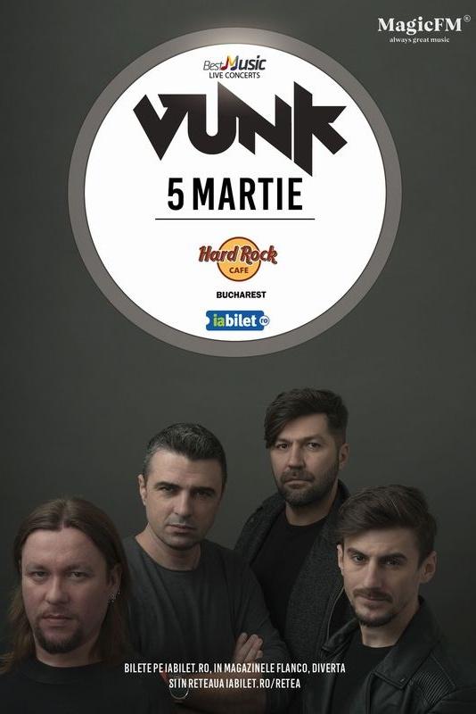 VUNK la Hard Rock Cafe