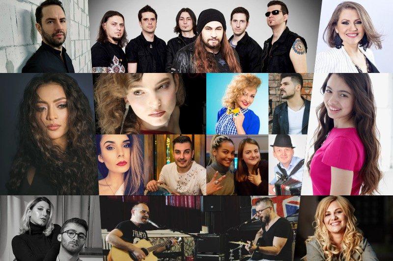 Concurenții din prima semifinală Eurovision România 2019