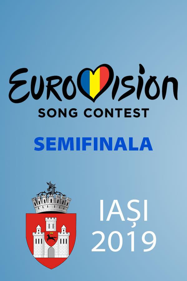 Eurovision România 2019 - Semifinala de la Iași la Sala Polivalenta din Iași