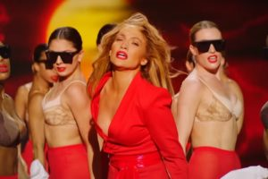 "Jennifer Lopez (screenshot videoclip ""Limitless"")"