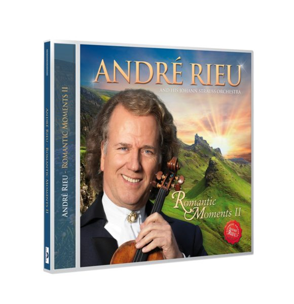 "Andre Rieu - ""Romantic Moments II"" (copertă CD)"