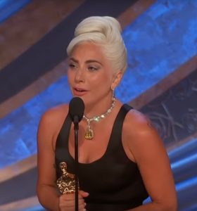 Lady Gaga la gala premiilor Oscar 2019