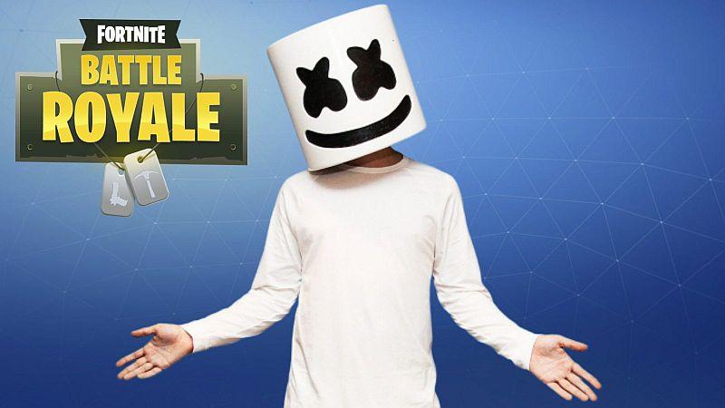 Marshmello concert Fortnite 2 februarie 2019