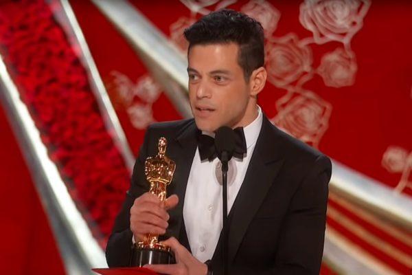 Rami Malek la gala Premiilor Oscar 2019