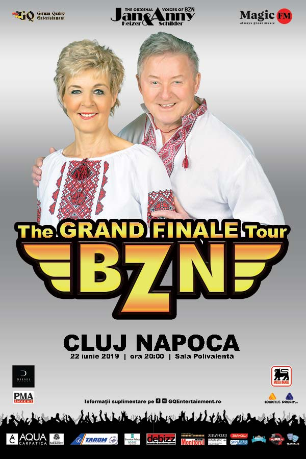 BZN - Grand Finale Tour la BT Arena (Sala Polivalentă) Cluj-Napoca