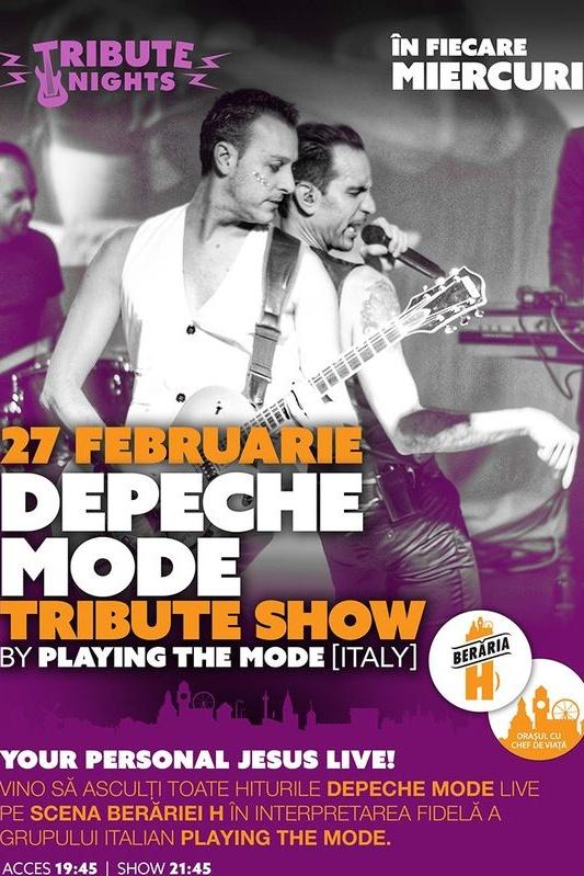 Depeche Mode Tribute la Berăria H