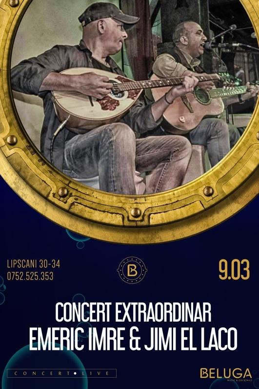 Emeric Imre & Jimi El Laco la Beluga Music & Cocktails