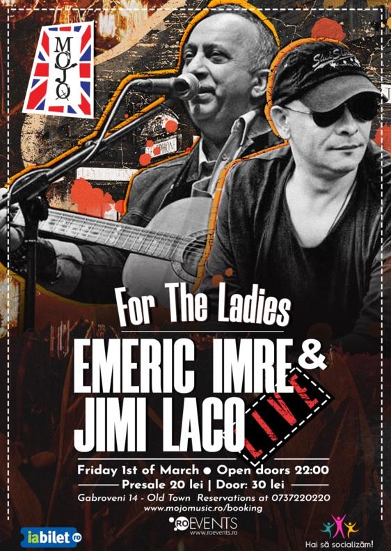 Emeric Imre & Jimi Laco la Club Mojo