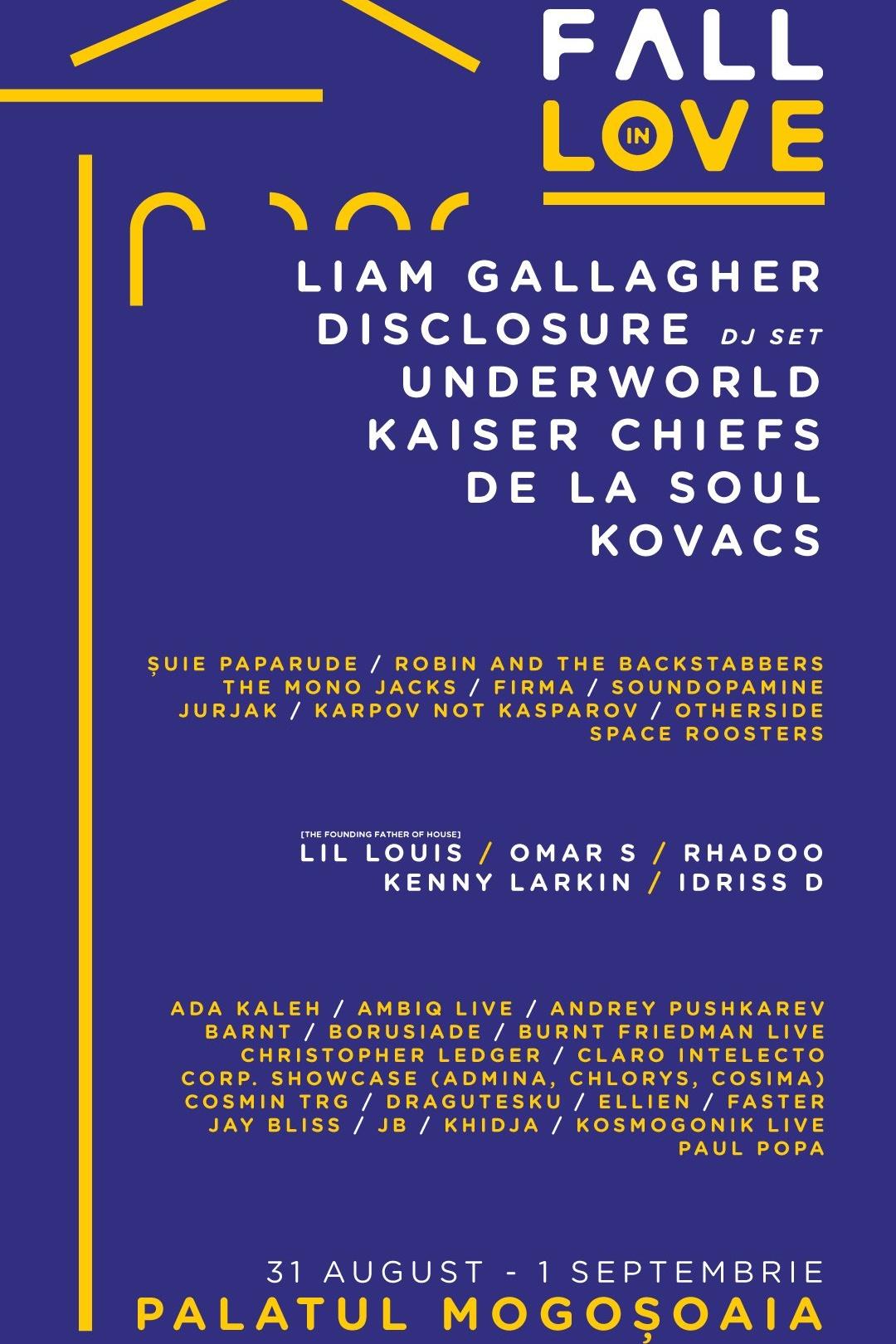 Fall in Love Festival 2019 la Palatul Mogoșoaia