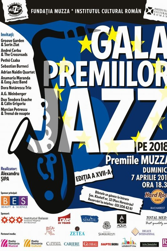 Gala Premiilor de Jazz XVII la Hard Rock Cafe