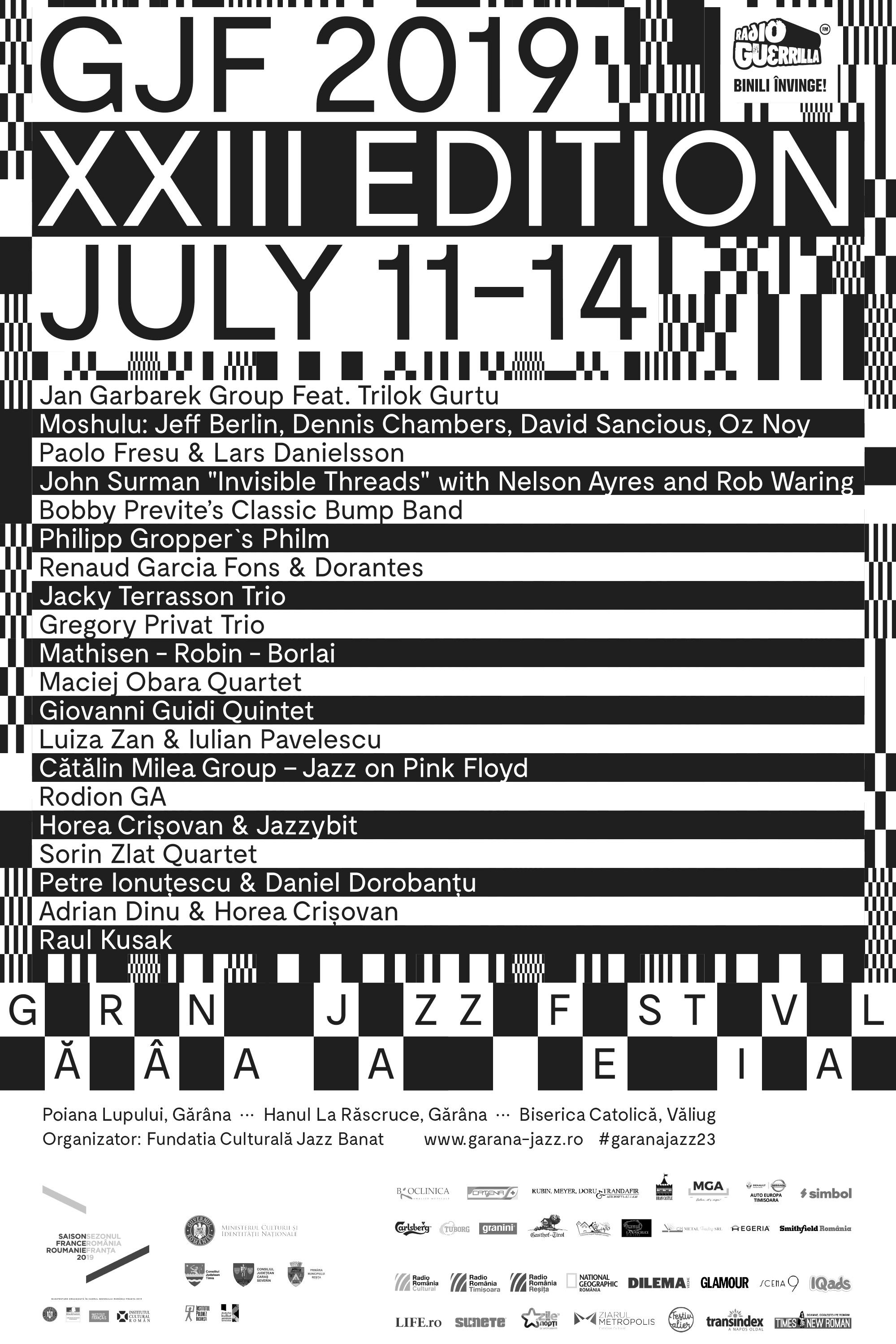 Gărâna Jazz Festival 2019 la Poiana Lupului de la Garâna