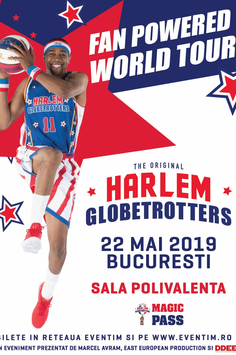 Harlem Globetrotters la Sala Polivalentă