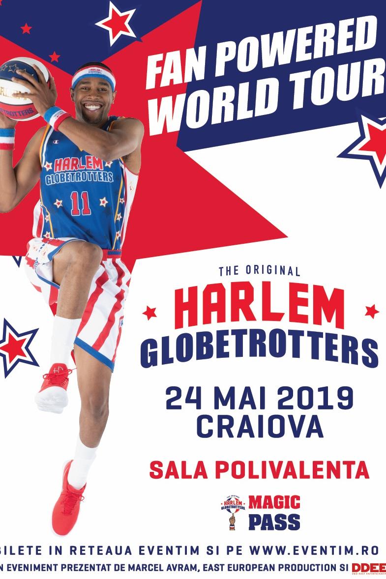 Harlem Globetrotters la Sala Polivalentă Craiova