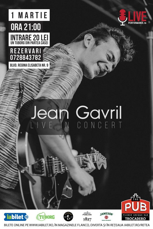 Jean Gavril la The Pub - Universității