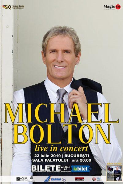 Poster eveniment Michael Bolton