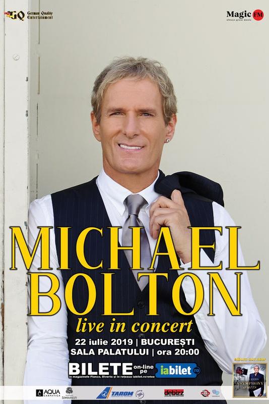 Michael Bolton la Sala Palatului