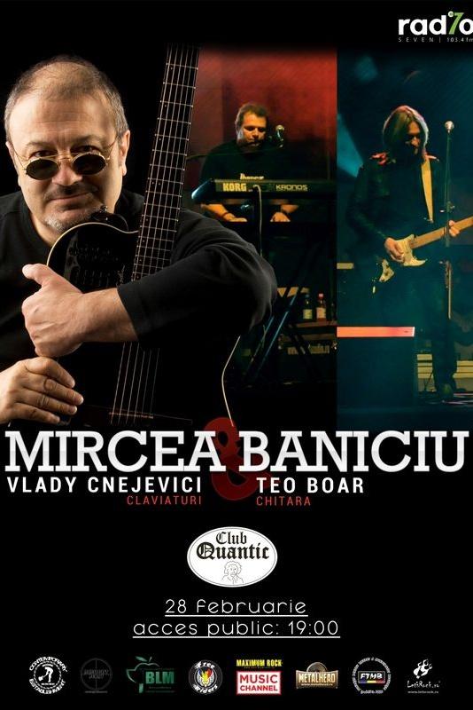 Mircea Baniciu & BAND la Quantic Club