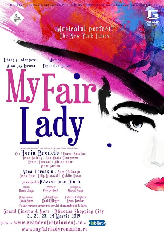 My Fair Lady la Grand Cinema & More