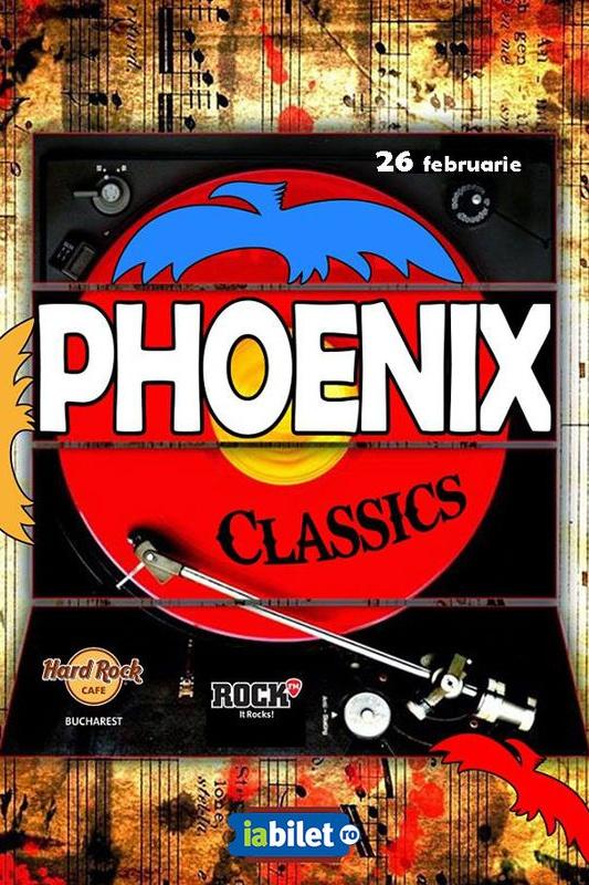 Phoenix Classics la Hard Rock Cafe