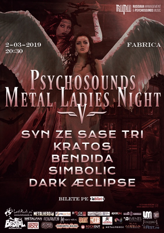 Psychosounds Metal Ladies Night V la Fabrica