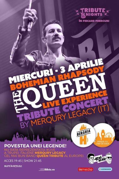 Poster eveniment Queen Tribute