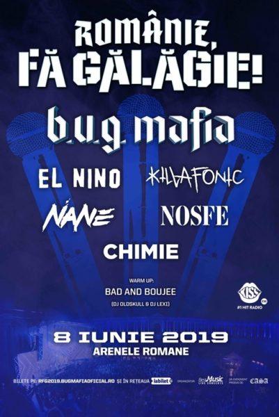 Poster eveniment Românie, Fă Gălăgie! 2019