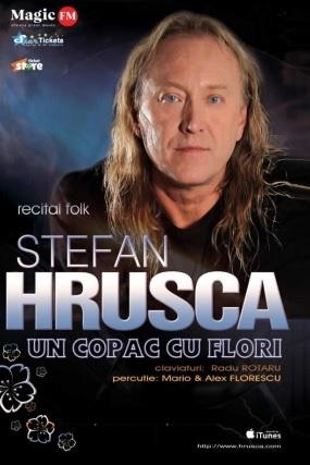 Ștefan Hrușcă - Un copac cu flori la Teatrul Naţional București