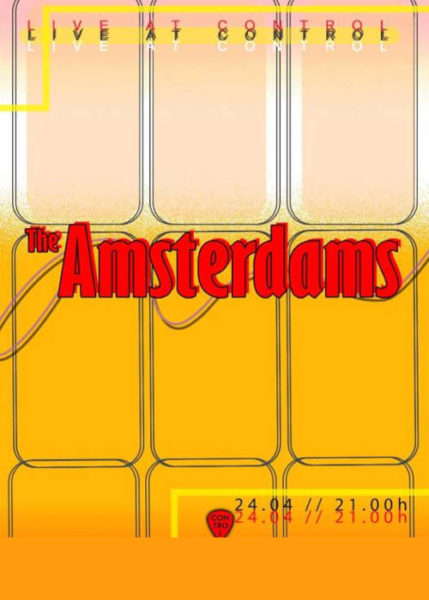 Poster eveniment The Amsterdams