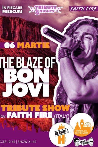 Poster eveniment The Blaze of Bon Jovi - Tribute Show